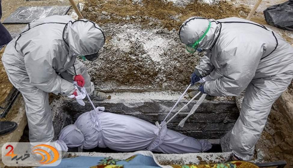 دفن 7167 نفر از فوتی های کرونا در بهشت زهرا(س)